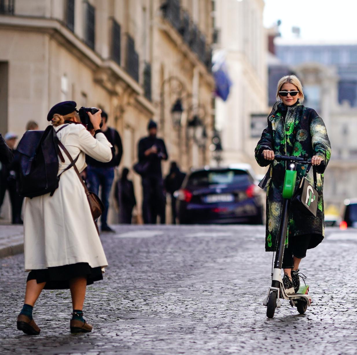 Lime met à disposition des trottinettes pour la Fashion Week